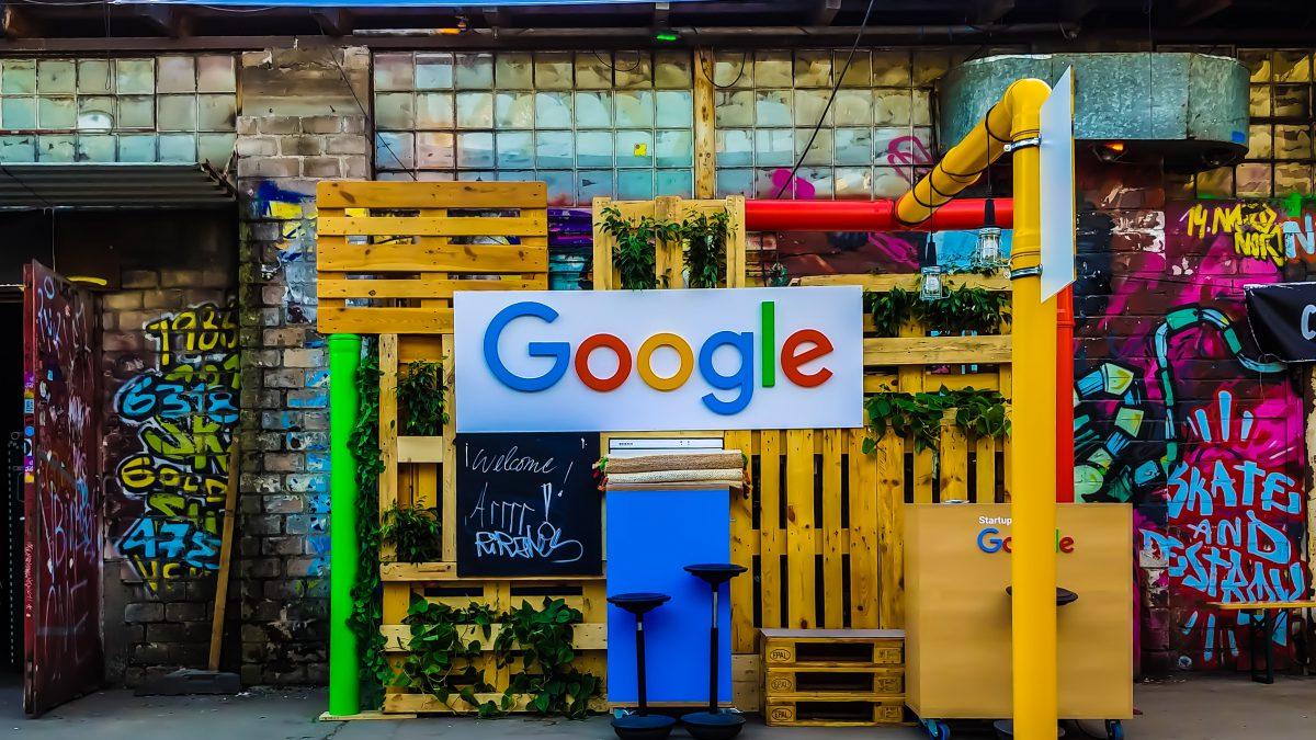 Google logo zdjęecie